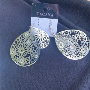 Beautiful silver earrings